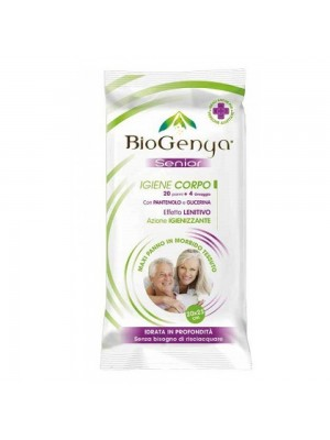 Biogenya senior corpo 20salviette+4 in omaggio