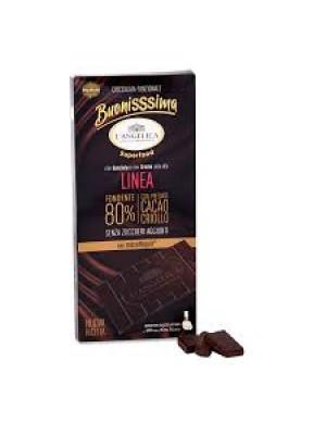 L'Angelica Buonissima Linea Tavoletta Cioccolato Fondente 80% 80g
