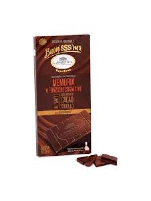 L'Angelica Buonissima Memoria e funzioni Cognitive Tavoletta Cioccolato  80g