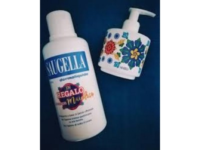 Saugella Dermoliquido 500ml +dispenser maiolica